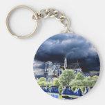 Notre Dame, Paris 4 Key Chain