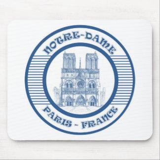 NOTRE-DAME PARIS BLUE MOUSE PAD