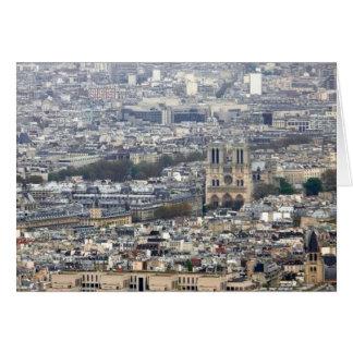 Notre Dame Paris France Card