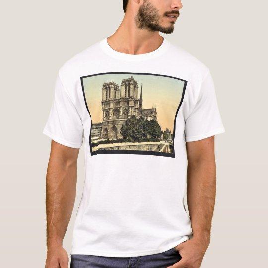 Notre Dame, Paris, France classic Photochrom T-Shirt