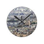 Notre Dame Paris France Clock