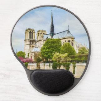 Notre Dame Paris France Gel Mouse Pads