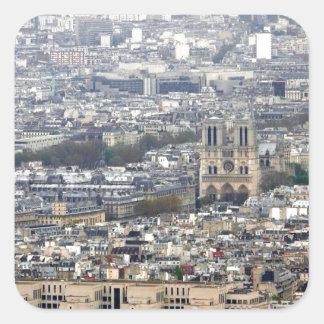 Notre Dame Paris France Square Sticker