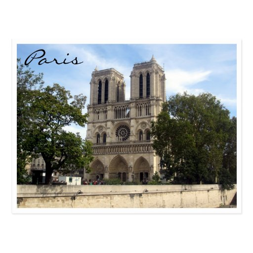 Notre Dame París Postales