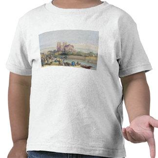 Notre Dame, Paris (w/c on paper) Tee Shirt