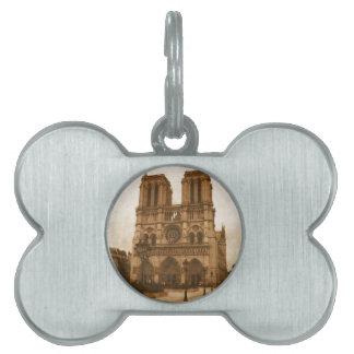 Notre Dame Pet Tag