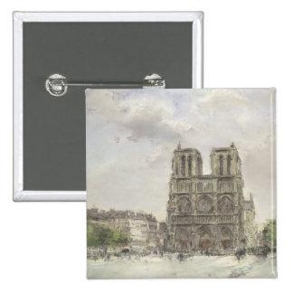 Notre Dame Pin Cuadrada 5 Cm
