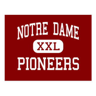 Notre Dame - Pioneers - High - Crowley Louisiana Postcard