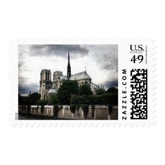 Notre Dame Postage Stamp