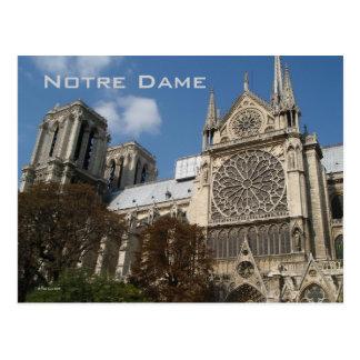 Notre Dame Postcard