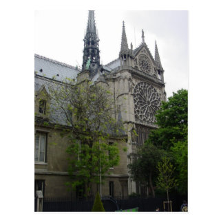 Notre Dame Post Card