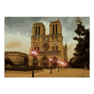 Notre Dame Poster