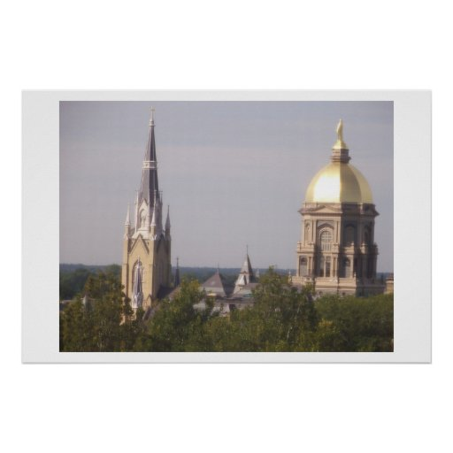 Notre Dame Posters