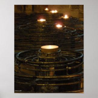 Notre Dame Rememberance Print