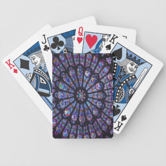 Notre Dame Rose Window Playing Cards