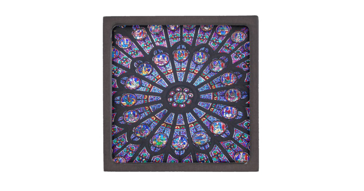 Notre Dame Rose Window Premium Gift Box Zazzle Com