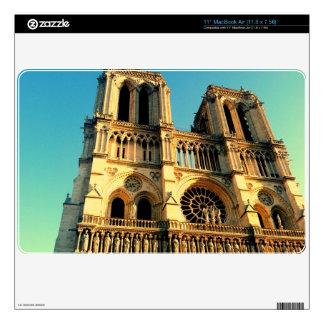 "Notre Dame Skin 11"" MacBook Air Decal"
