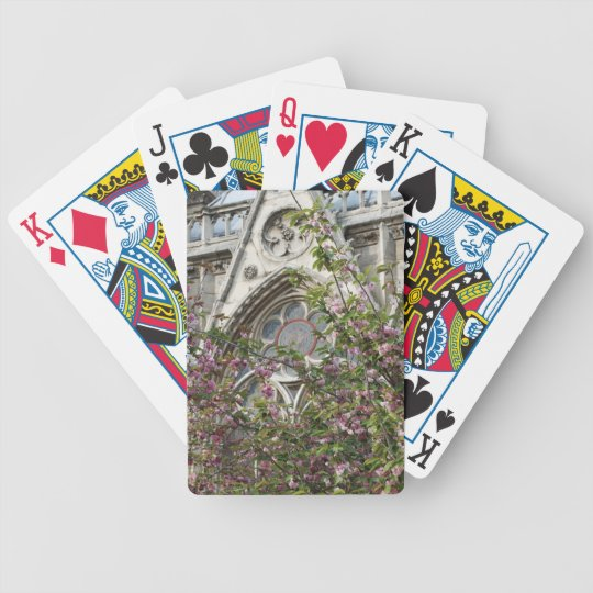 Notre Dame spring Bicycle Playing Cards
