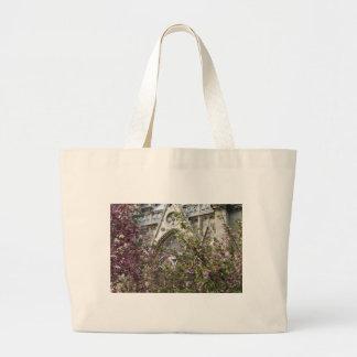 Notre Dame spring Large Tote Bag