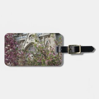 Notre Dame spring Luggage Tag