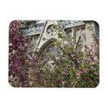 Notre Dame spring Rectangular Photo Magnet