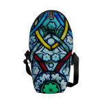 Notre Dame Stained Glass Courier Bag