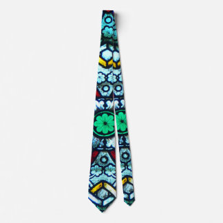 Notre Dame Stained Glass Neck Tie