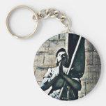 Notre Dame Statue CB Key Chains