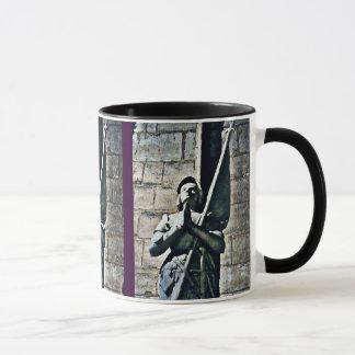 Notre Dame Statue CB Mug