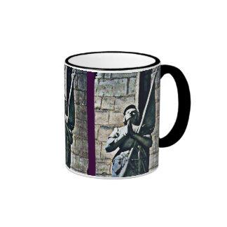Notre Dame Statue CB Coffee Mugs