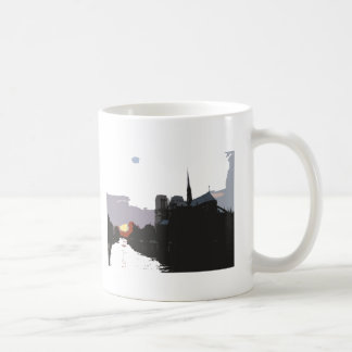 Notre Dame Sunset Mug
