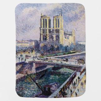 Notre Dame Swaddle Blanket