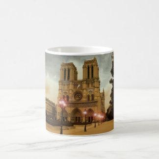 Notre Dame Taza Básica Blanca