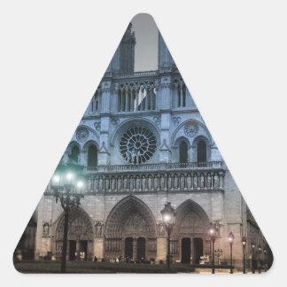 Notre Dame Triangle Sticker