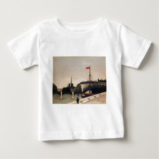 Notre Dame View of the Ile Saint Louis Baby T-Shirt