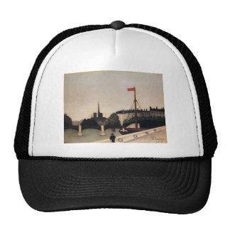 Notre Dame View of the Ile Saint Louis Trucker Hat