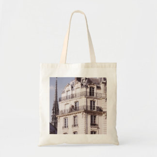 Notre Dame y arquitectura parisiense Bolsa Tela Barata