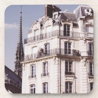 Notre Dame y arquitectura parisiense Posavasos De Bebidas