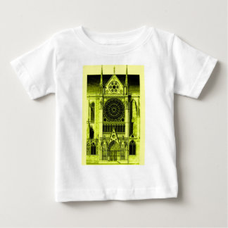 notre dame yellow baby T-Shirt