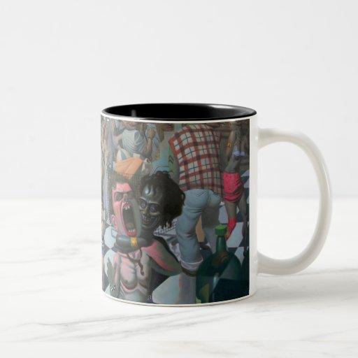 Notrica 32nd street market Two-Tone coffee mug