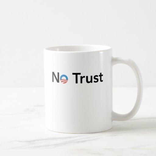 NoTrust Classic White Coffee Mug