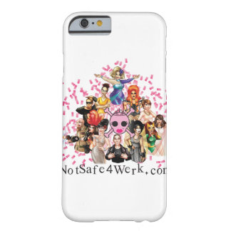 NotSafe4Werk.com iPhone 6, Barely There Case