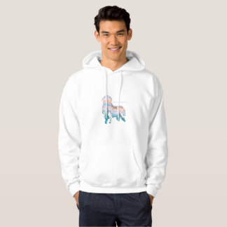 Notta Bear Newfoundlands Beach Love Hoodie