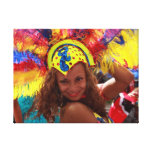 Notting Hill Carnival Canvas Canvas Print