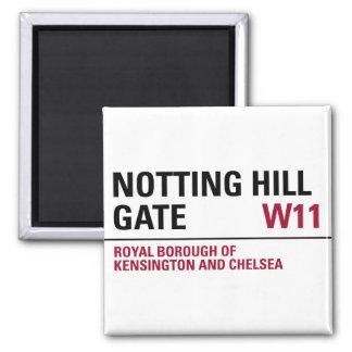 Notting Hill Gate Sign Magnet