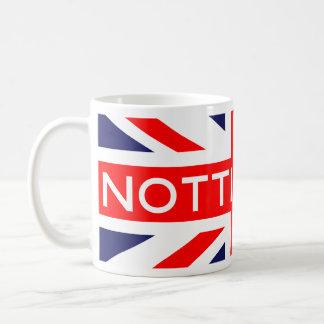 Nottingham : British Flag Coffee Mug