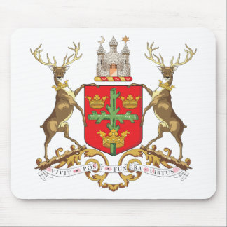 Nottingham Coat of Arms Mouse Pad