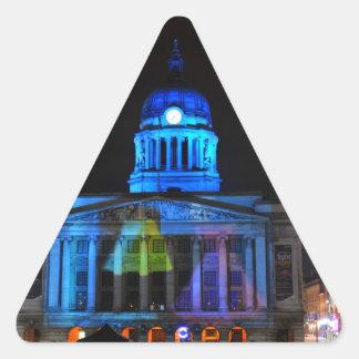 Nottingham Triangle Sticker