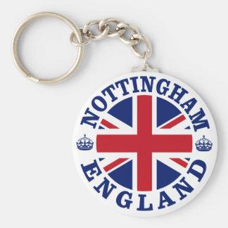 Nottingham Vintage UK Design Keychain