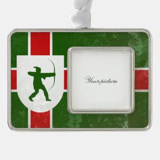 Nottinghamshire Christmas Ornament